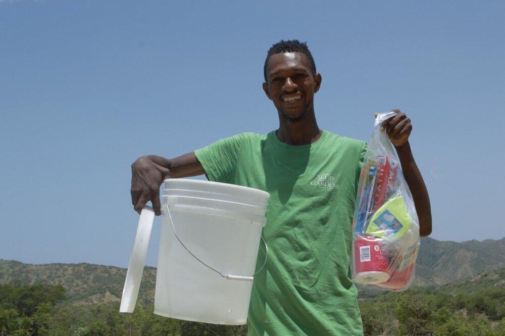 Goede samenwerking met TECHO Haiti