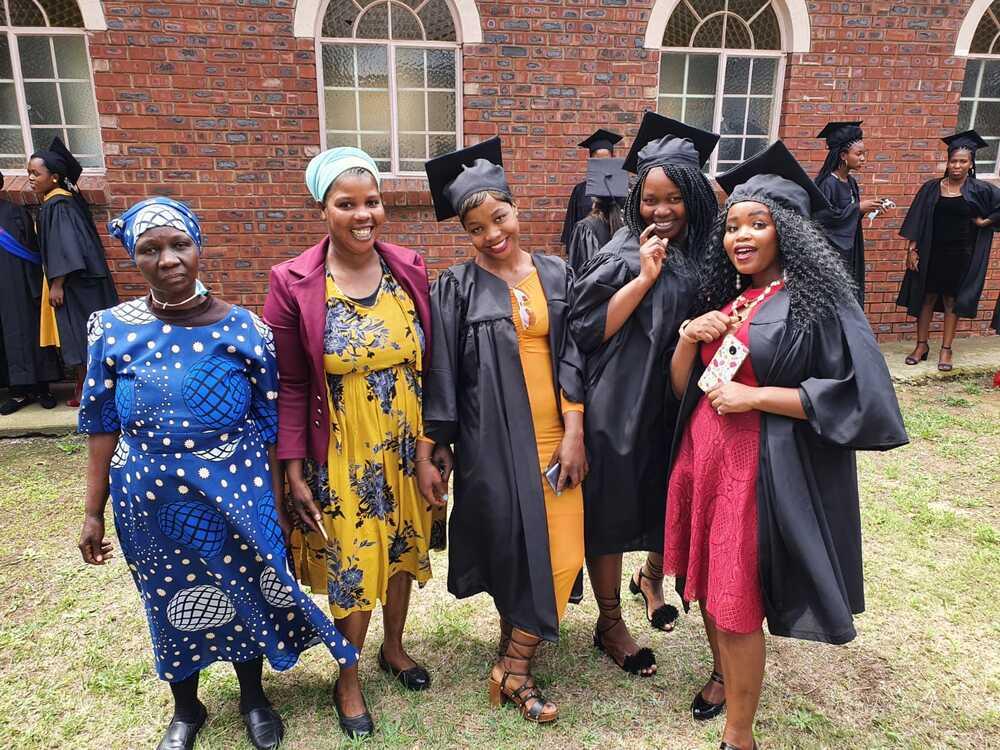 Kandidaten krijgen hun diploma in Pomeroy