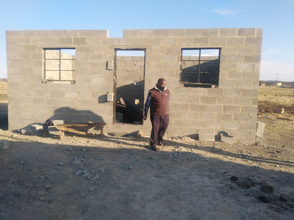 Bouw huizen Wasbank bijna afgerond