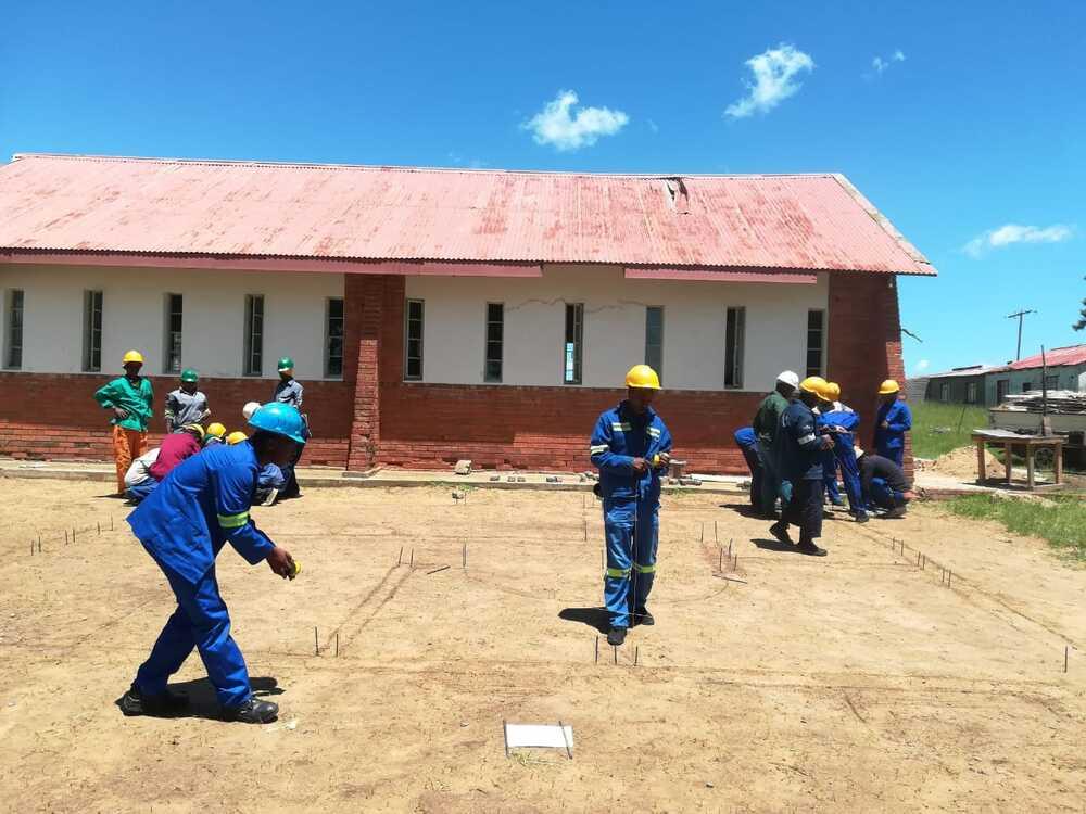 HomePlan ondersteunt bouwtrainingen jongeren Zuid-Afrika