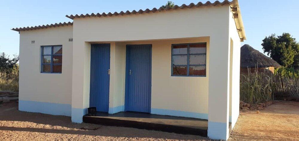 Bouw HomePlan huizen in Zimbabwe bijna klaar
